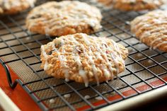 Carrot Applesauce Cookies, a healthy cookie I feel great about eating!