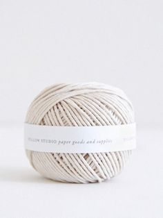 follow paper co. | paper goods and supplies shop — cotton string ball