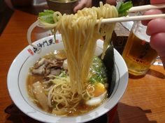 Find images and videos about food, asian and yummy on We Heart It - the app to get lost in what you love. Japanese Ramen, Japanese Food, Nom Nom, Spaghetti, Korea, Healthy Eating, Asian, Foods, Ethnic Recipes