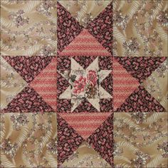 2014 - Civil War Quilts: Threads of Memory 2: Mercer County Star for Susan Lowe Wattles