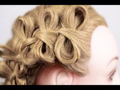 Bow Braid Hairstyle. Плетение косичек бантиками - YouTube