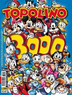 Copertina Topolino numero 3000. #Topolino