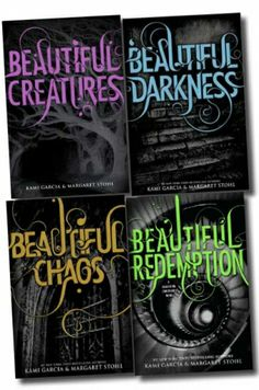 Beautiful Creatures series - possibly my favorite book covers ever