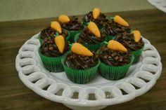 Cupcakes trufado.