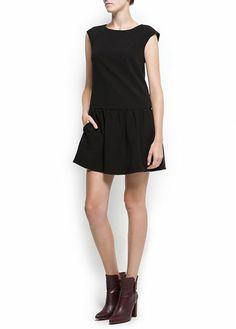 MANGO - NEW! - Flared knit dress