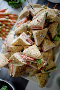 canapés- the perfect party companion.