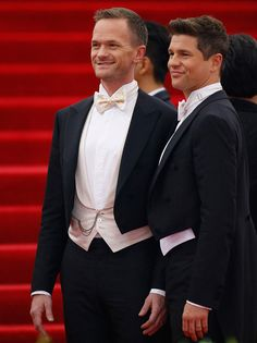 """Neil Patrick Harris and Davidl Burtka attend """"China: Through The Looking Glass"""" Costume Institute Benefit Gala at Metropolitan Museum of Art on May 4, 2015 in New York City."""