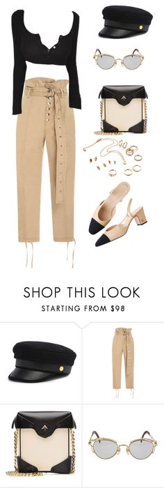 """""""Untitled #178"""" by carolina11297 ❤ liked on Polyvore featuring Henri Bendel, Marissa Webb, MANU Atelier and Jean-Paul Gaultier"""