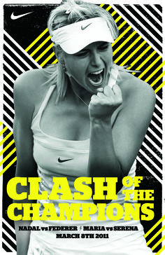 Nike Tennis :: Clash of the Champions - Lily Piyathaisere