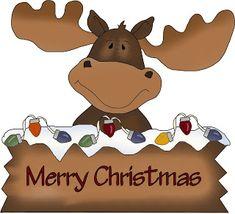 Christmas Moose Christmas Yard Art, Christmas Moose, Christmas Rock, Christmas Drawing, Christmas Paintings, Christmas Clipart, Christmas Printables, Christmas Projects, All Things Christmas