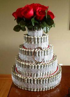 Trendy Birthday Presents For Boyfriend For Him 37 Ideas Money Birthday Cake, Money Cake, Birthday Presents, Birthday Beer, Birthday Nails, Diy Birthday, Birthday Present For Boyfriend, Presents For Boyfriend, 21st Bday Ideas