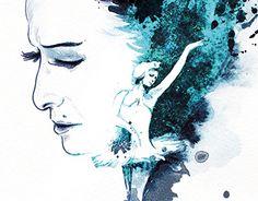 "Check out new work on my @Behance portfolio: ""Maya Plisetskaya"" http://on.be.net/1KaPw9M"