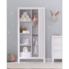 I propped Mothercare's new for AW16 Bayswater White wardrobe and chest of…