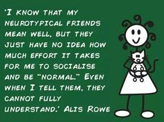 Disability Awareness, Autism Awareness, Aspergers Women, Understanding Autism, Autism Quotes, High Functioning Autism, Autism Sensory, Anxiety In Children, Deal With Anxiety