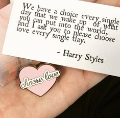Check out our one direction buttons selection for the very best in unique or custom, handmade pieces from our shops. 1d Quotes, Lyric Quotes, Love Quotes, Inspirational Quotes, Simbolos Tattoo, Harry Styles Quotes, One Direction Quotes, Senior Quotes, Love Of My Life
