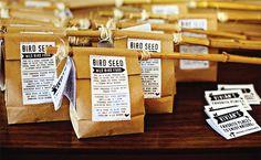 Deanna Moore Design  bird-seed-hobo-bag party favor printables  http://www.etsy.com/shop/deannamooredesign