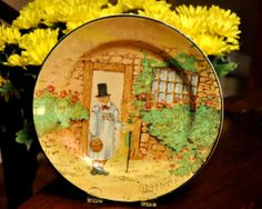Royal Doulton Salad Plate 8 1/2 inches  by StarfishCollectibles, $65.00