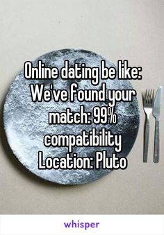 online dating im not that desperate