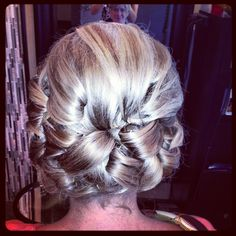 Updo halo salon buffalo