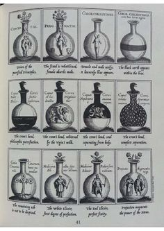 The Alchemist's Kitchen Extraordinary Potions & Curious Notions - Guy Ogiluy Medieval Manuscript, Medieval Art, Renaissance Art, Illuminated Manuscript, Occult Symbols, Occult Art, Albedo, Hogwarts, Magie Harry Potter