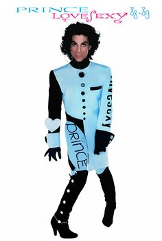 Classic Prince   1988 Lovesexy - with graphics!