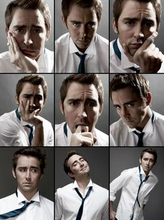Lee Pace. That middle one in the last row... *melts*
