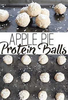 Gluten free and Vegan apple spice protein balls! So delicious and healthy! Protein Energy, Protein Ball, Protein Snacks, Energy Bars, Healthy Snacks, Healthy Eating, Spiced Apples, Cinnamon Apples, Vegan Plate