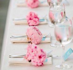Wedding place sets