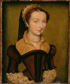 Portrait of Louise de Halluin, dame de Cipierre by Corneille de Lyon, c. 1555