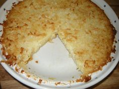 Mama's Amazingly Easy Coconut Pie