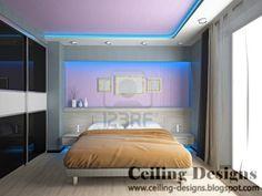 colorful false ceiling