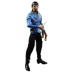 From the One:12 Collective comes this ThinkGeek exclusive: Mirror Mirror Spock. You can tell this collectible is evil from the goatee.