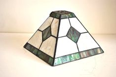 Lovely Vintage Handmade Stained Glass Lamp Shade by GuidouxVintage, £30.00