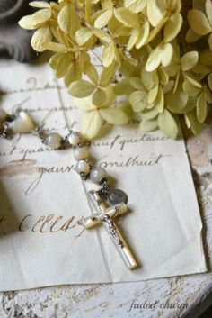 Faded Charm: ~Vintage Rosaries~