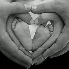 This is a fantastic picture because of the way a family unites with their love, even when the child is only so snall