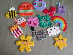 mine and lotties hama beads by ~monkee247 on deviantART