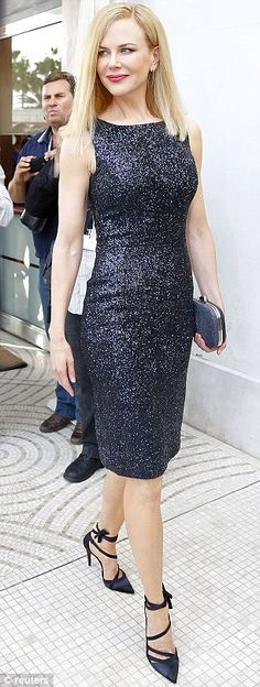 Nicole Kidman arrives for the Cannes Film Festival.