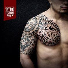 """Dmitry Babahin @babakhintatau  Exhibitor of 14 Saint-Petersburg Tattoo Festival.  #tattoo #tattooartist #crazytattoos #tattoolife  #ink #inked…"""