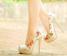 flower stiletto
