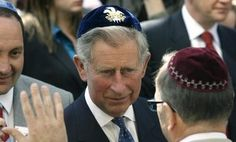 """""""Prince Charles concerned by rise in anti-Semitism in Britain.""""  Well, lets hope it's not just talk."""