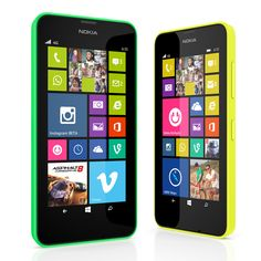 Nokia Lumia 630 is lunched in eye-catching colors and attractive features, this Smartphone is available in bright green, bright orange and bright yellow back panels along with the standard white and black colors. You can also buy different colors of panels and you can change the back out for another color according to your mode.