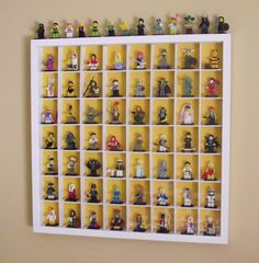 Instructable Lego Minifig Display Case.jpg - modify for skylanders?