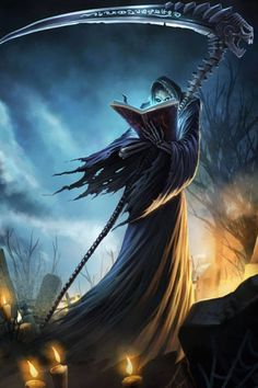 League of Legend Halloween Grim Reaper Karthus Case for iPhone 6 Plus Death Reaper, Grim Reaper Art, Don't Fear The Reaper, Dark Fantasy Art, Dark Art, Reaper Tattoo, Bild Tattoos, Ange Demon, Arte Obscura