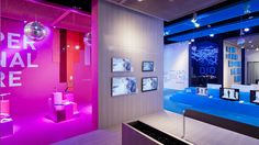 Color zoned environments -  room of contrasts | grundig by D'art Design Gruppe , via Behance