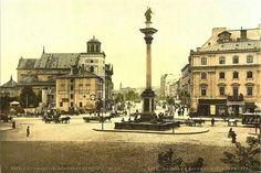 Plac  Zamkowy. XIX w.