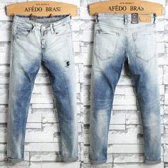 Men Ripped Jeans Pants Biker Skinny Slim Straight Denim Trousers US Stock PANTS