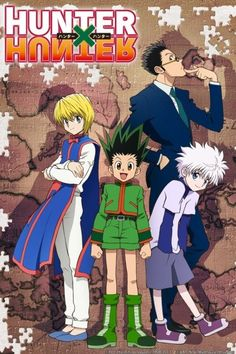 Hunter x Hunter 2011 Completo Legendado HDTV 720p torrent