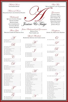 Such a good idea for a seating chart! Better than organizing by table number and guests having to read each table on the chart until they find their name!