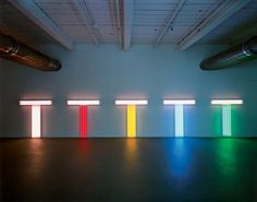 Untitles (to Don Judd, colorist) by Dan Flavin