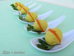 Antipasti sfiziosi - Baci di patate e peperoni
